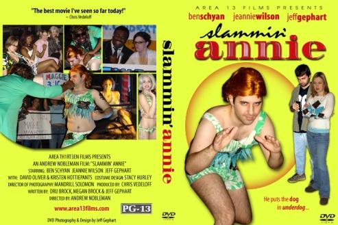 Slammin Annie DVD cover